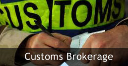 customs broker services